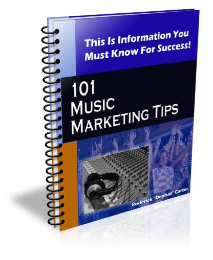 101 Music Marketing Tips